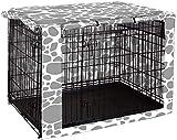 Chengsan Abdeckung für Hundeboxen mit Doppeltür, für Drahtkäfige, für den Innen- und Außenbereich, langlebig und winddicht