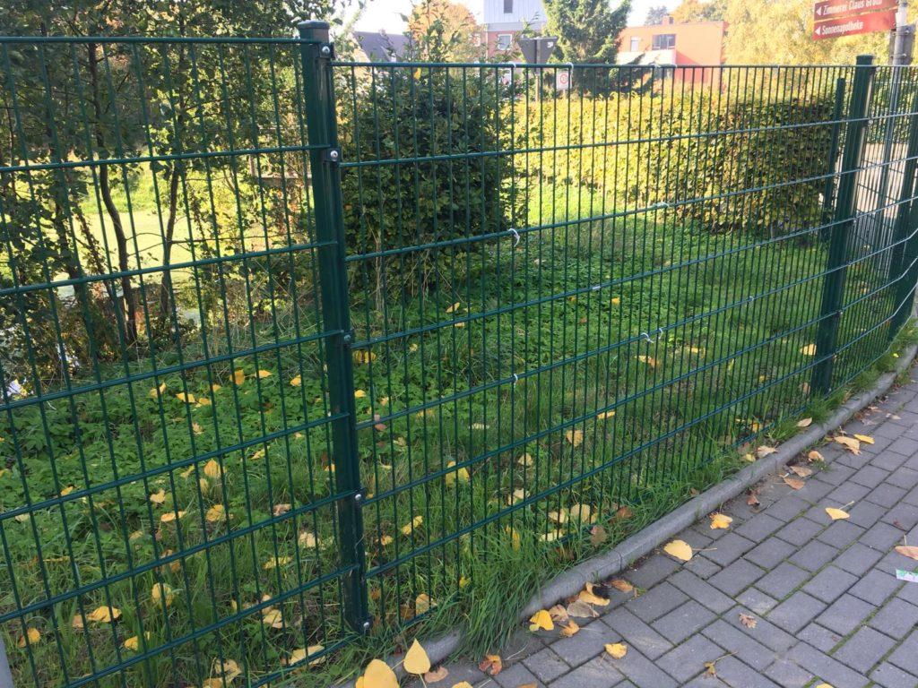Hundesicherer hundegerechter Garten - Zaun für Hund