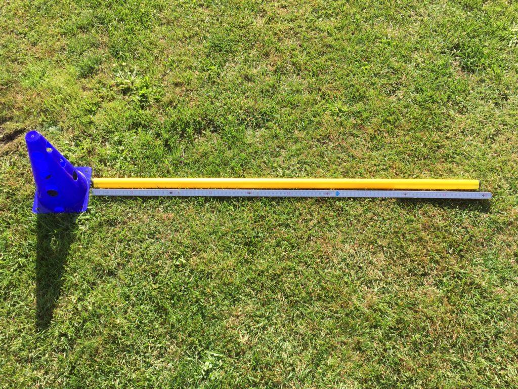 Kegelhürden - Hütchenhürden - Steckhürden - Test